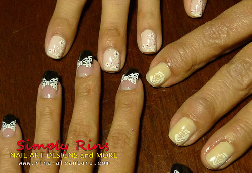 Little Sister's Wedding Nails 04