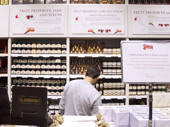 Preserves at Eataly