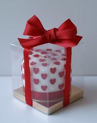 Individual Boxed Hearts Cake (GrannySweet'sCakes) Tags: love cake hearts individual grannysweetscakes