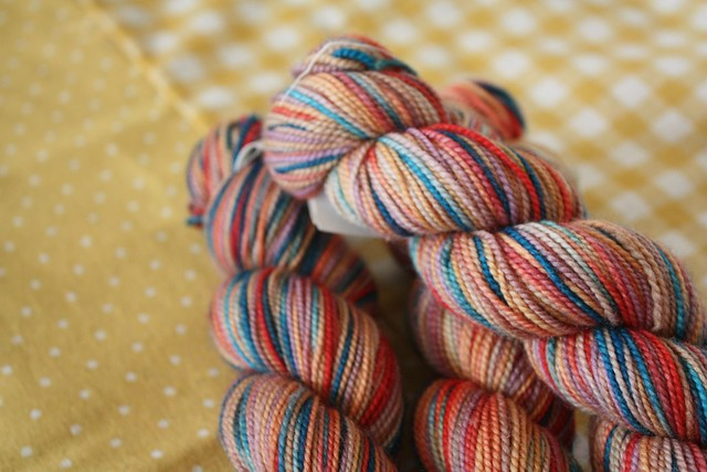 some more colourful wool