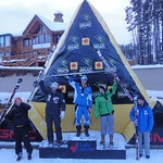 Broderick Thompson 2nd J1 at Lake Louise GMC Cup GS