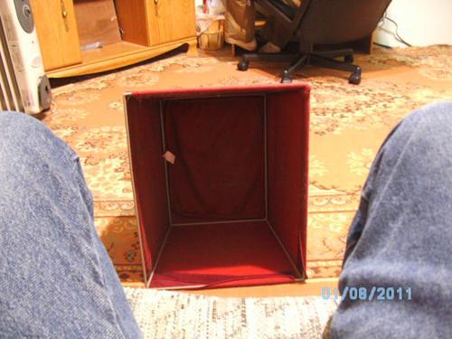 Temporary foot stool