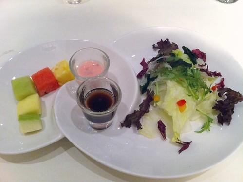 梅醋田園+優格水果沙拉