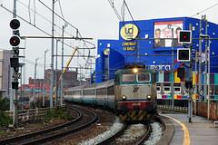 Trenitalia E656 284 (Maurizio Boi) Tags: railroad italy train rail railway locomotive treno intercity trenitalia ferrovia locomotiva e656