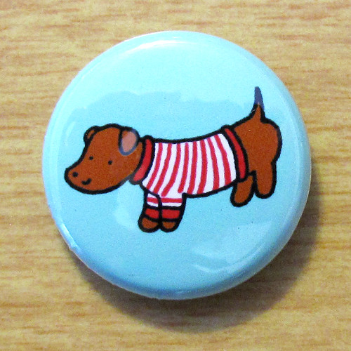 Sweater Doggie Dachshund - Button 01.07.11