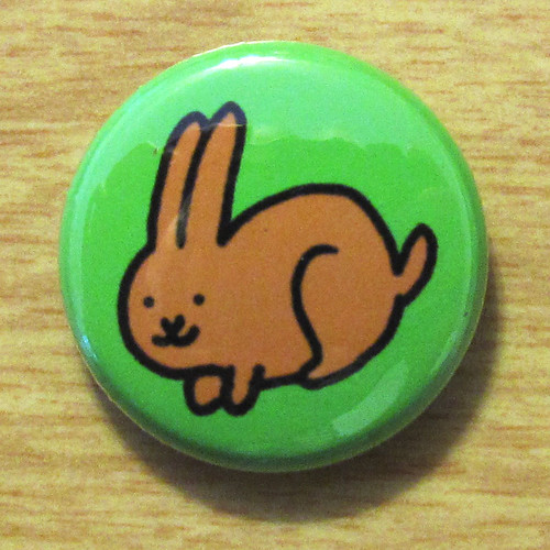 Woodland Bunny - Button 01.11.10