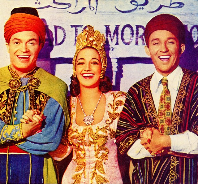 Bob Hope, Dorothy Lamour and Bing Crosby