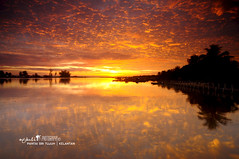 Morning Glory (nGkU Li) Tags: seascape nature sunrise nikon kelantan d90 tumpat thepowerofnow ngkuli
