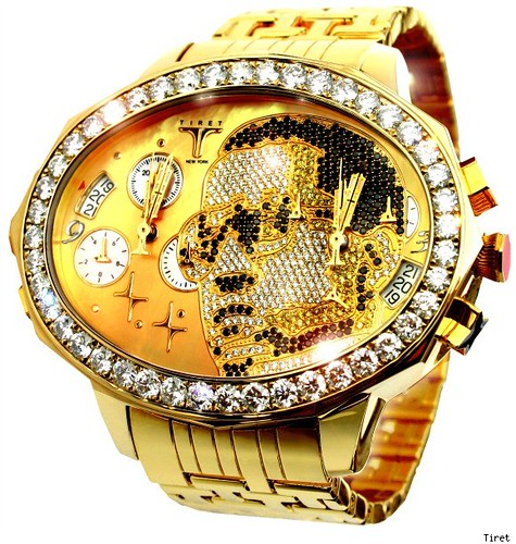 Kanye West $180,000 Tiret Watch