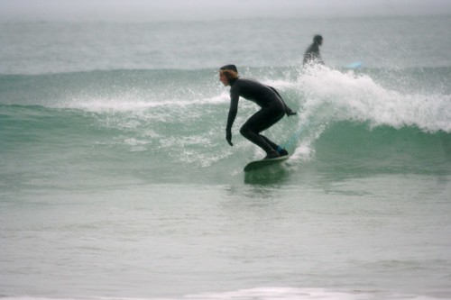 Surfing Newquay