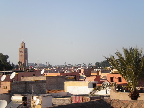 View over Marrakech