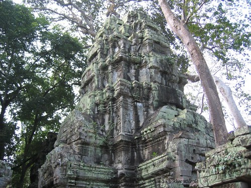 ta prohm tower