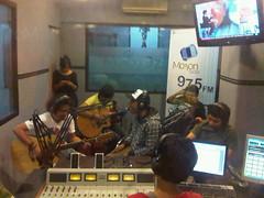 Jimmu - Motion975FM Jkt 30 September 2010_3 (jimmuband) Tags: jimmu alexkuple jimmuband