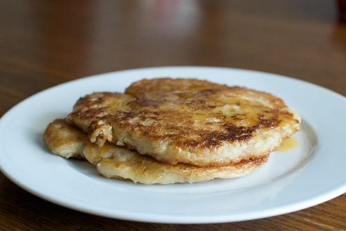 steel cut oatmeal pancake