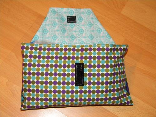 Diaper Clutch Flap Open