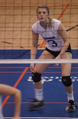 Women's College Volleyball, Sherbrooke Vert Et Or VS Universit de Montral Carabins, Sony A55, Montreal, 16 January 2011 (519) (proacguy1) Tags: montreal womenscollegevolleyball sonya55 sherbrookevertetorvsuniversitdemontralcarabins 16january2011