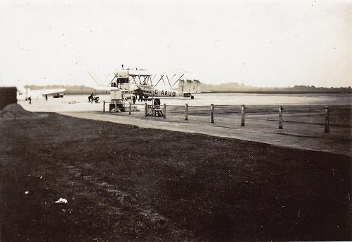Handley Page HP.42 'Hanno'. Croydon airport.