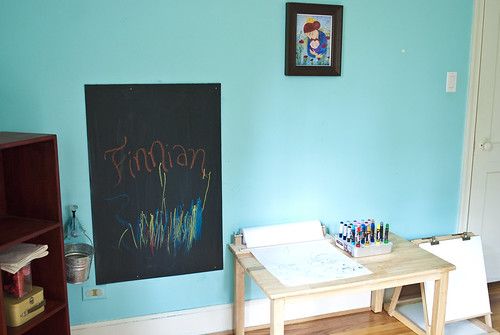 finn and lachlan's studio - art area 2