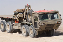Oshkosh Rumbling (Doc Oren) Tags: truck pentax dust oshkosh 8x8 hemtt k20d
