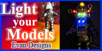 Evan Designs LED Lights!