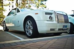 Rolls Royce Phantom Drophead (texan photography) Tags: white texas ghost houston fast rollsroyce phantom luxury astonmartin v12 drophead lightroom3