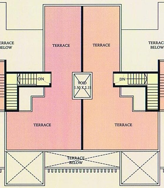 A J Serene Ram Indu Park Baner Pune - A3 & B3 Duplex - 3rd Floor - Top Terrace