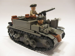 "Universal Carrier Mk. II (""Rumrunner"") Tags: army lego brodie wwii canadian ww2 universal division carrier bren worldwar2 allies brickarms brickmania"