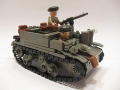 "Universal Carrier Mk. II (""Rumrunner"") Tags: army lego brodie wwii canadian ww2 universal division carrier bren worldwar2 allies brickarms brickmania"
