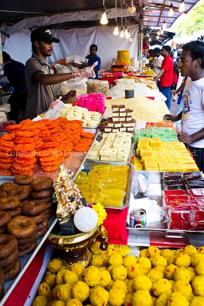 Vendor @ Thaipusam, Batu Caves, Malaysia
