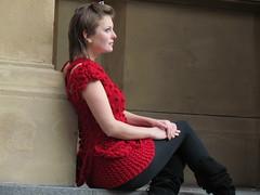 Frankfurt (marie castro knitwear) Tags: red marie tricot knitting dress crochet knitted tric croch tchibi