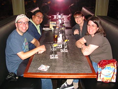 Joseph, Me, Aleah and Chrissy at the Yard House (Loren Javier) Tags: california me longbeach yardhouse shorelinevillage josephpowers lorenjavier chrissypowers aleahpurcell
