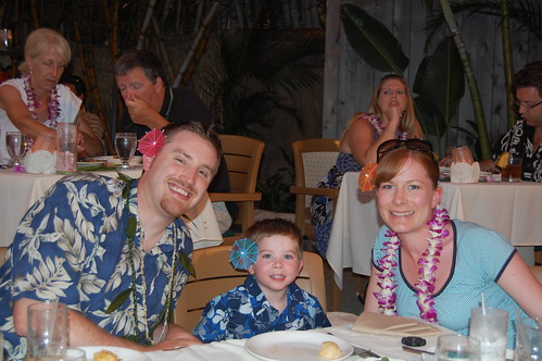 Luau family portrait