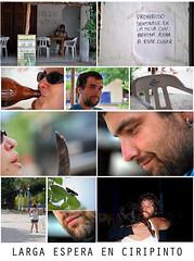 058 - Larga espera en Ciripinto (Mr. Theklan) Tags: beer collage mexico comic cerveza oaxaca historia pacifico zipolite 2010 puertoescondido fotonovela garagardoa itxoiten ltytr1