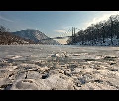 Bears Eat Beets At Bear Mountain Bridge (Mike Orso) Tags: bear bridge winter mountain snow cold ice canon river landscape bears eat beets hudson 1740mm hdr battlestargalactica at 6raw 5dm2