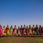 Maasais women - Kenya