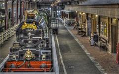 Swindon Steam Museum 2 (Darwinsgift) Tags: swindon steam museum great western railway voigtlander 58mm f14 nokton hdr photomatix nikon d810