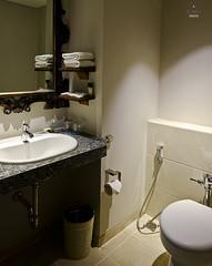 Vanity and toilet (A. Wee) Tags: fourpoints spg kuta bali  indonesia  resort hotel  bathroom