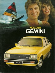 Holden Gemini (Hugo90-) Tags: auto chevrolet car ads advertising brochure gemini holden opel isuzu hcar