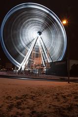 Gothenburg Ferris wheel (johanbe) Tags: wheel night gteborg long exposure gothenburg ferris ferriswheel natt hjul lng slutartid gteborgshjulet wheelofgothenburg gteborgshjul