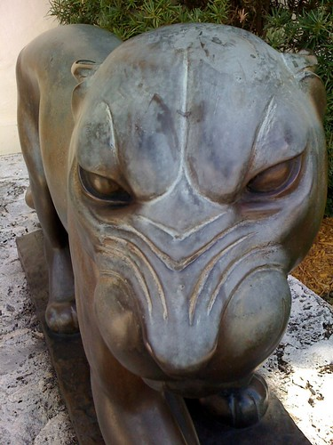 At the Foura Arts - Florida panther