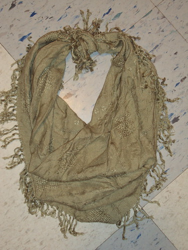 Light Olive Scarf