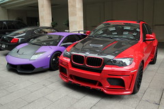 Hamann Tycoon (BMW X6) and LP670-4 SV (PK Wright) Tags: house london k hotel phil bmw p wright seen lamborghini philip sv murcielago hamann grosvenor x6 worldcars philwright lp6704 londonxmasshopping2010 pkwright