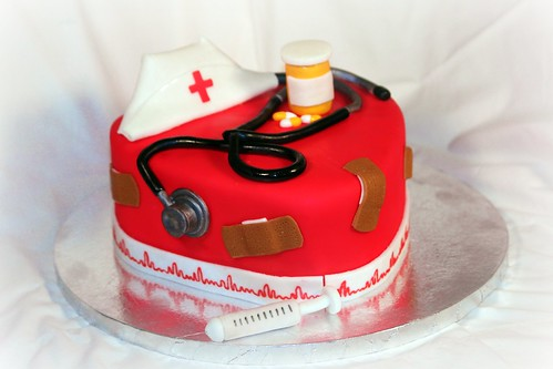 Nursing theme cake by my sister