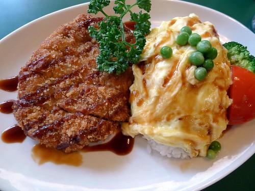 咖哩豬排@Daily 日式蛋包飯專賣店