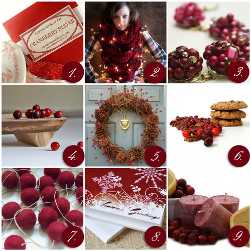 Wednesday Inspiration- Cranberry