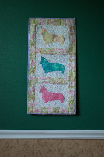 Pembroke Welsh Corgi Wall-Hanging