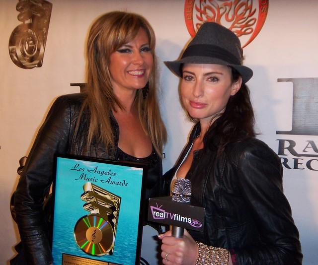 Zoe Scott, Samantha Gutstadt, LA Music Awards 2010