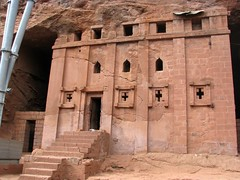 Bet Aba Libanos (Linda DV (away)) Tags: africa travel church canon geotagged ethiopia orthodox 2010 lalibela rockchurch christianism powershots5is lindadevolder