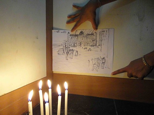candle draw