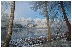 Ice Ice Baby (TommyDPhotography) Tags: winter lake snow ice water canon frozen meer bevroren sneeuw nederland drenthe ijs midlaren meerwijk zuidlaardermeer